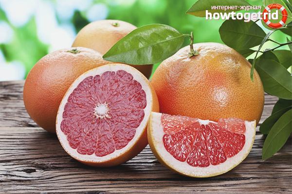 Польза грейпфрута для похудения