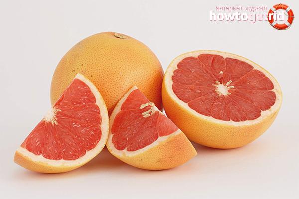 Польза и вред грейпфрута