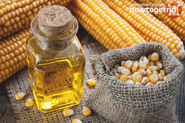 Кукурузное масло - польза и вред для организма
