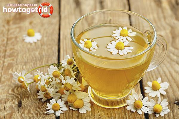 Польза при похудении ромашкового чая