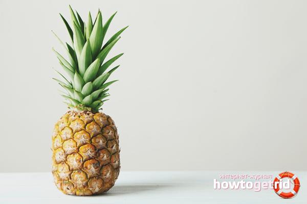 Вред ананаса