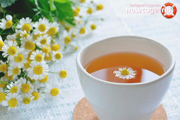 Вред ромашкового чая