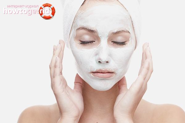 Белая глина для лица: свойства и применение