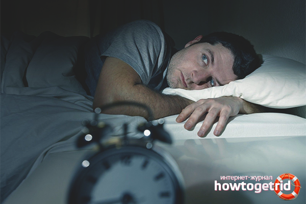 Бессонница после запоя: что делать в домашних условиях