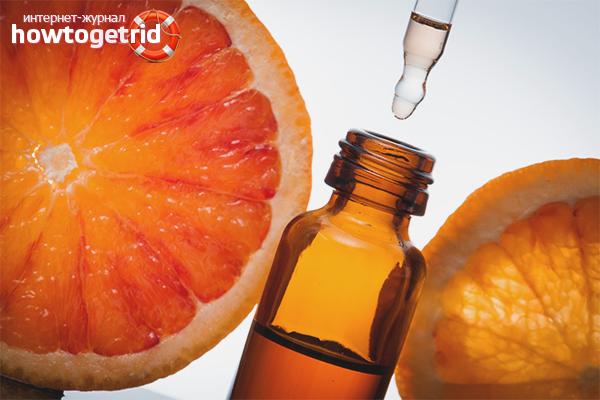 Грейпфрутовое масло для жирных волос