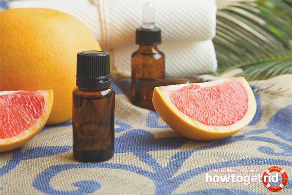 Масло грейпфрута для укрепления волос
