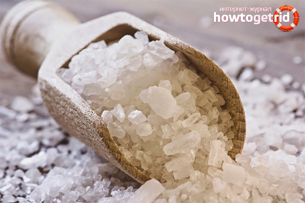 Морская соль для волос: способы применения