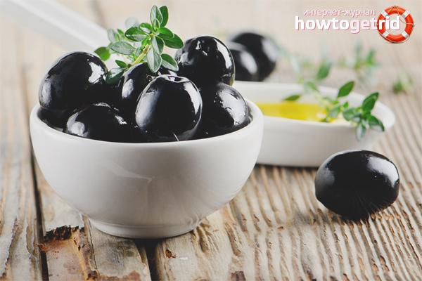 Маслины - польза и вред для организма