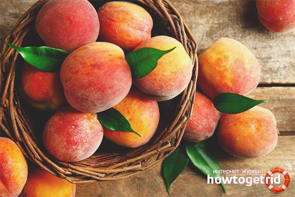 Польза персиков для сердечно-сосудистой системы