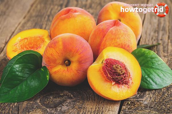 Польза персиков для женщин