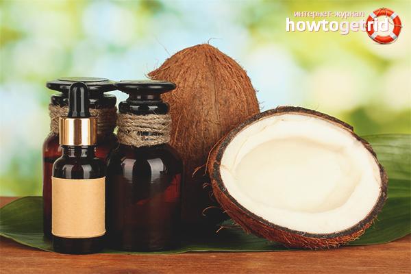 Кокосовое масло для ресниц: способы применения