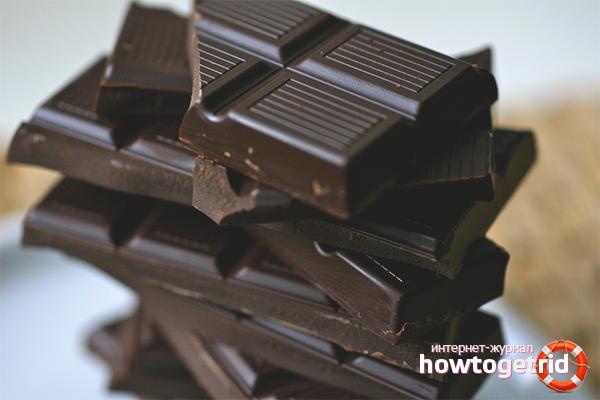 Горький шоколад для кормящих матерей