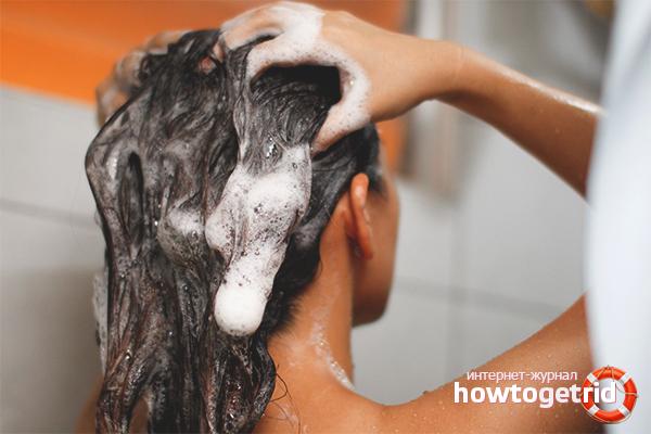 Как мыть волосы хозяйственным мылом