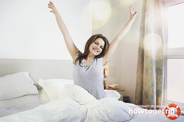 Как просыпаться с хорошим настроением