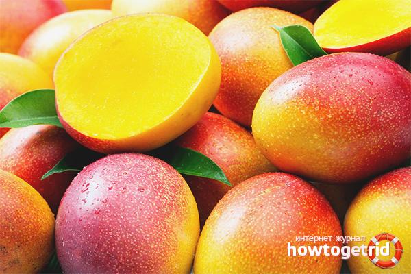 Как выбрать манго