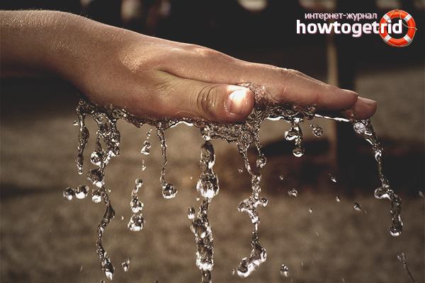 Как вывести воду из организма