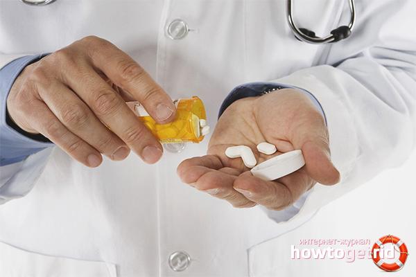 Медикаментозное лечение СХУ