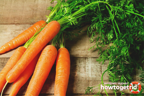 Польза морковной ботвы для мужчин