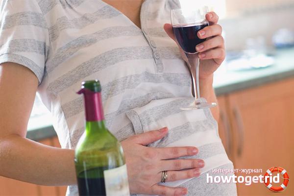 Можно ли беременным женщинам пить вино