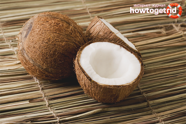 Вред кокоса