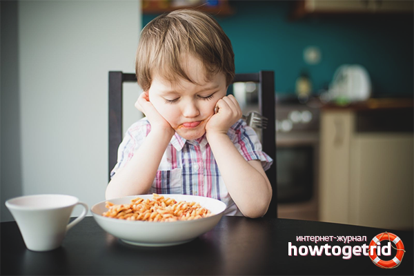 Что делать, если ребенок не хочет есть