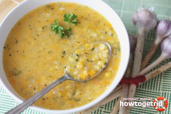 Гороховый суп для похудания