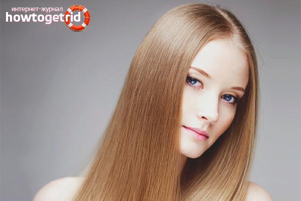 Как сделать волосы прямыми в домашних условиях