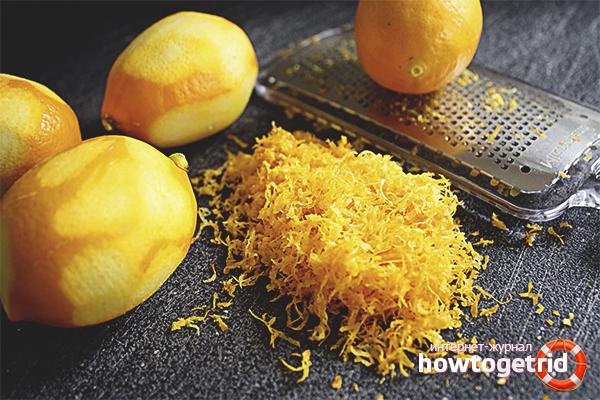 Польза и вред цедры лимона