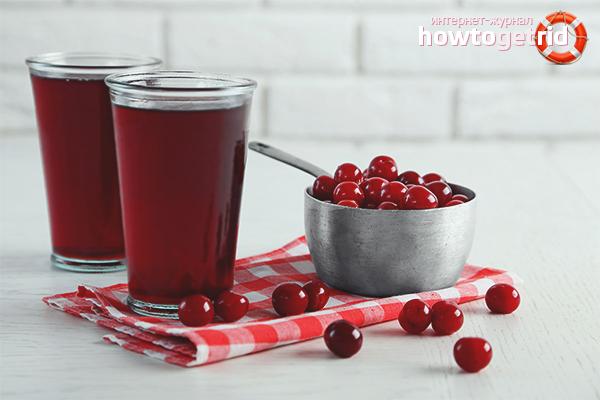 Польза и вред вишневого сока