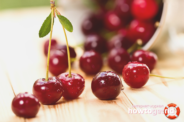 Польза и вред вишни для здоровья