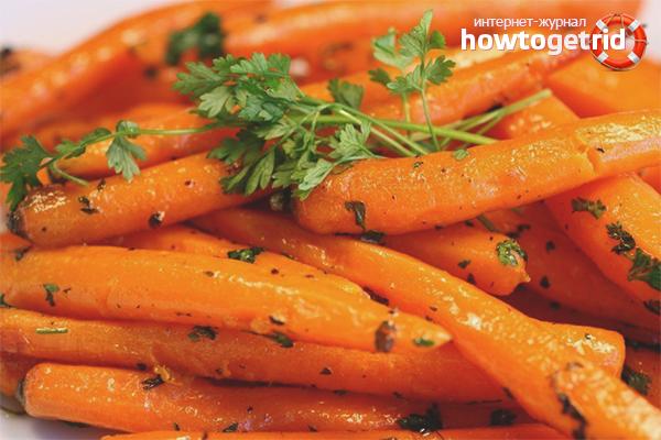 Польза варёной моркови