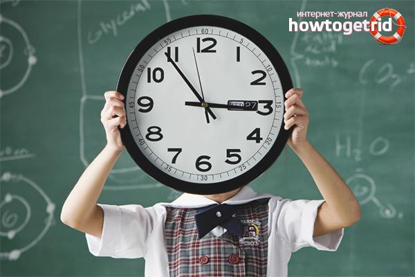 Учимся понимать время по часам