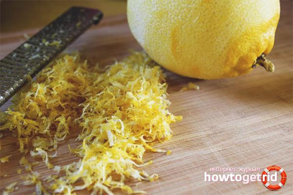 Вред лимонной цедры