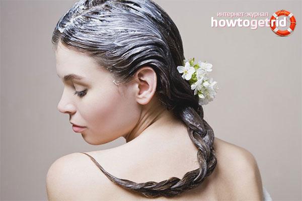 Маски для волос от выпадения после родов