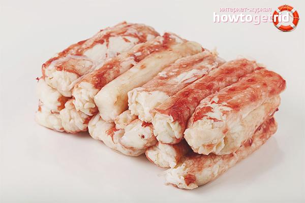 Польза и вред крабового мяса
