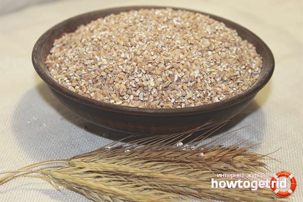 Польза и вред пшеничной крупы