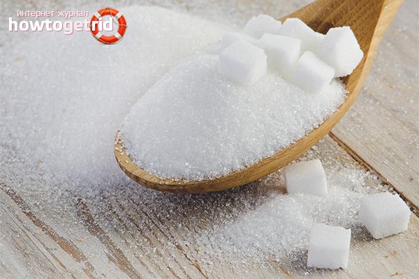Польза и вред сахара для детей