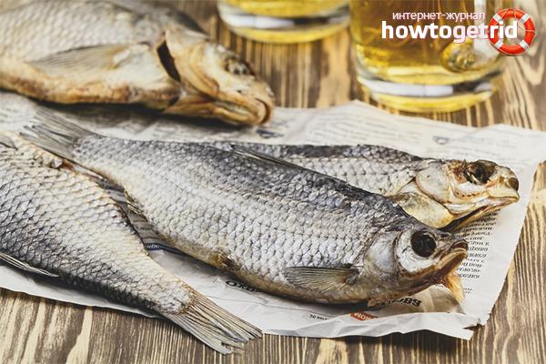 Польза и вред сушеной рыбы