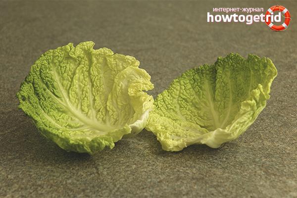 Рецепты народных средств с капустным листом