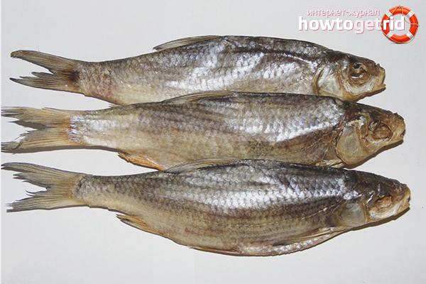Вред сушеной рыбы