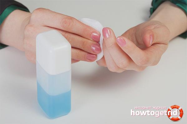 Чем можно заменить жидкость для снятия лака