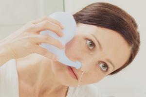 Чем промывать нос при гайморите