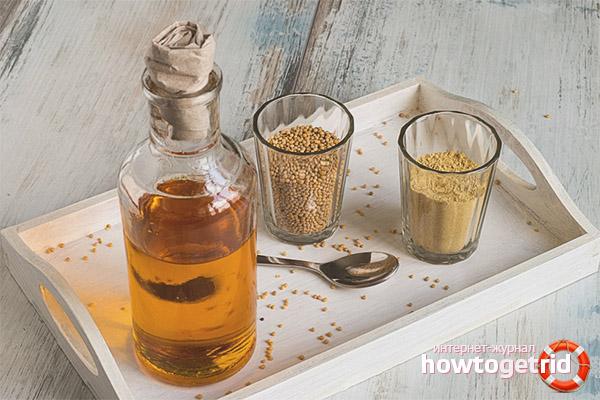 Горчичное масло при заболеваниях