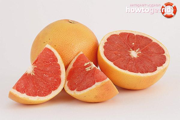 Грейпфрут при похудении