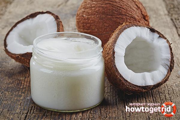 Как хранить кокосовое масло