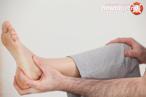 Как лечить ушиб пятки в домашних условиях
