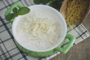 Как приготовить молочный суп с вермишелью