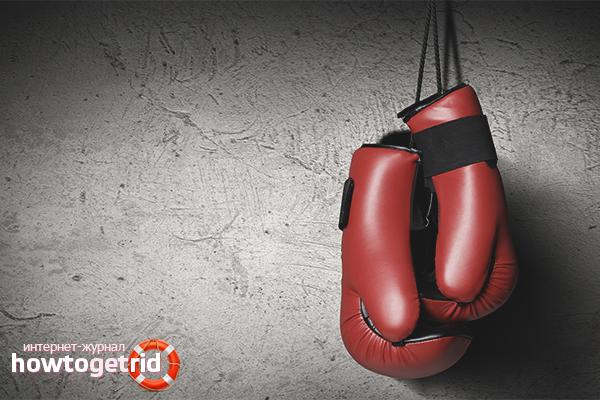 Из чего сделать боксёрские перчатки в домашних условиях 74