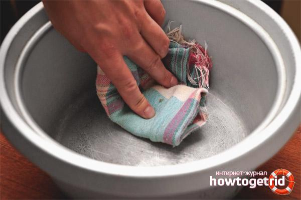 Как убрать накипь в алюминиевой кастрюле