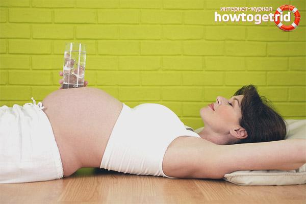Какую воду пить при беременности